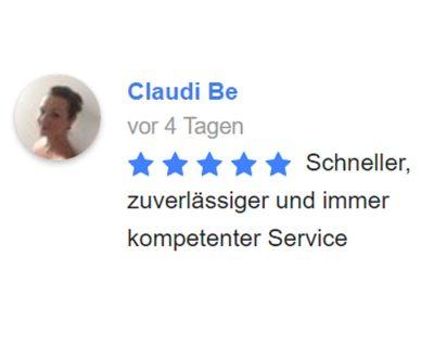 Grenzgänger - Versicherung & Service | Kundenbewertung von Claudia Bereuter